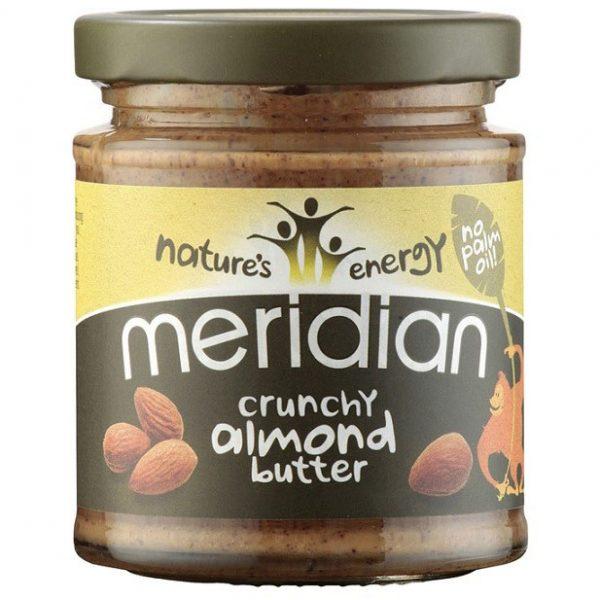 Meridian Crunchy Almond Butter - Jar
