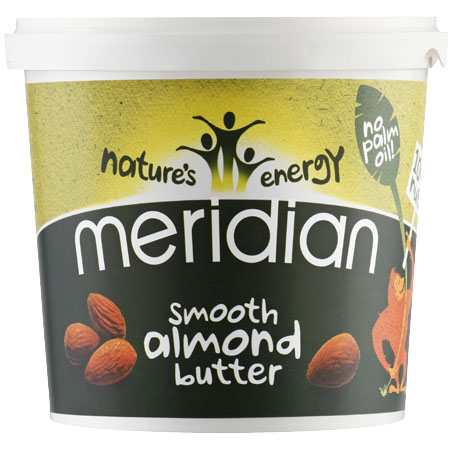 Meridian Smooth Almond Butter - Tub