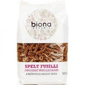 Biona Wholegrain Spelt Fusilli