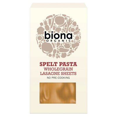 Biona Wholegrain Lasagne Sheets