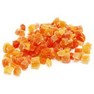 Crystalised Papaya Pieces
