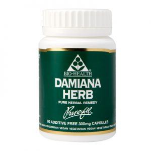 Bio-Health Damiana Herb 300mg