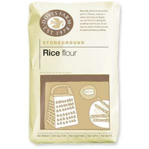 Doves Farm Gluten Free Rice Flour