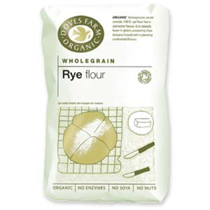 Doves Farm Organic Wholegrain Rye Flour