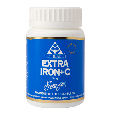 Bio-Health Extra Iron+C 20mg