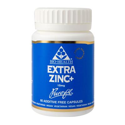 Bio-Health Extra Zinc+ 15mg