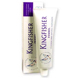 Kingfisher Fennel Toothpaste (fluoride free)