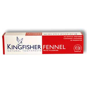 Kingfisher Fennel Toothpaste (with fuoride)