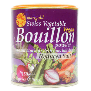 Marigold Swiss Vegetable Bouillon Powder (reduced salt)