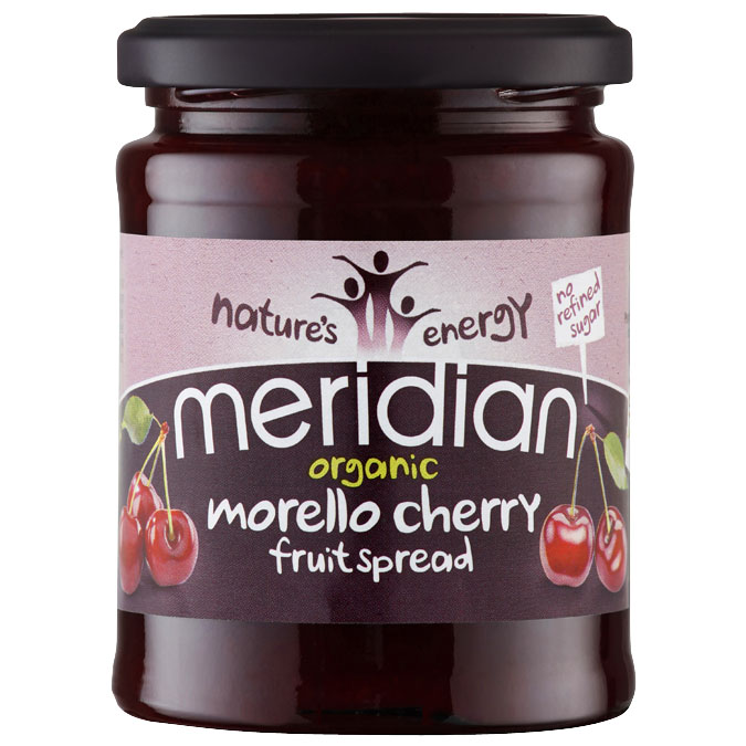 Organic Meridian Morello Cherry Fruit Spread