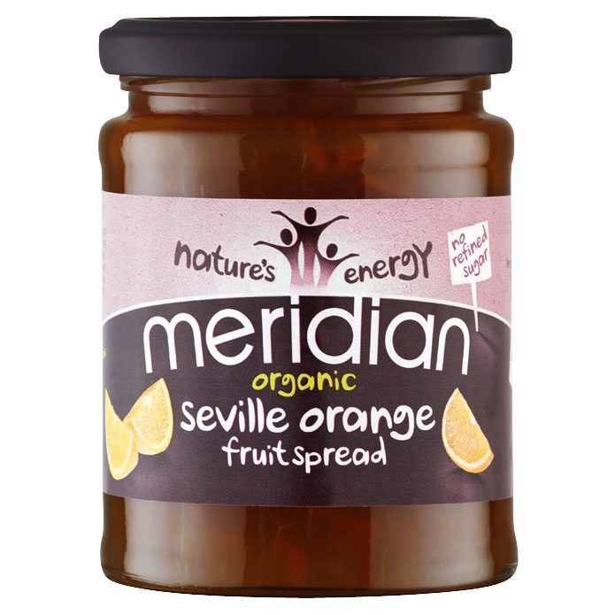 Meridian Organic Seville Orange Fruit Spread (Marmalade)