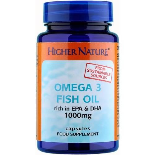 Higher Nature Omega 3 Fish Oil