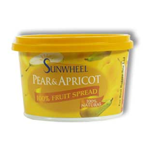 Sunwheel Pear and Apricot Spread