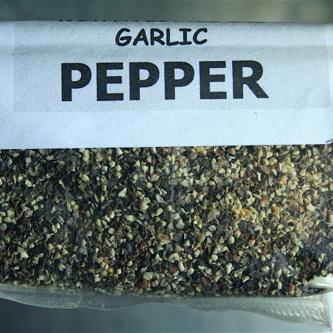 Pepper With Garlic