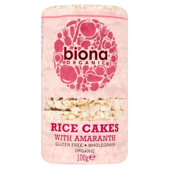 Biona Organic Amaranth Rice Cakes