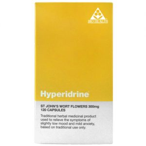Bio-Health Hyperidrine (St. Johns Wort) - 300mg - Large Size