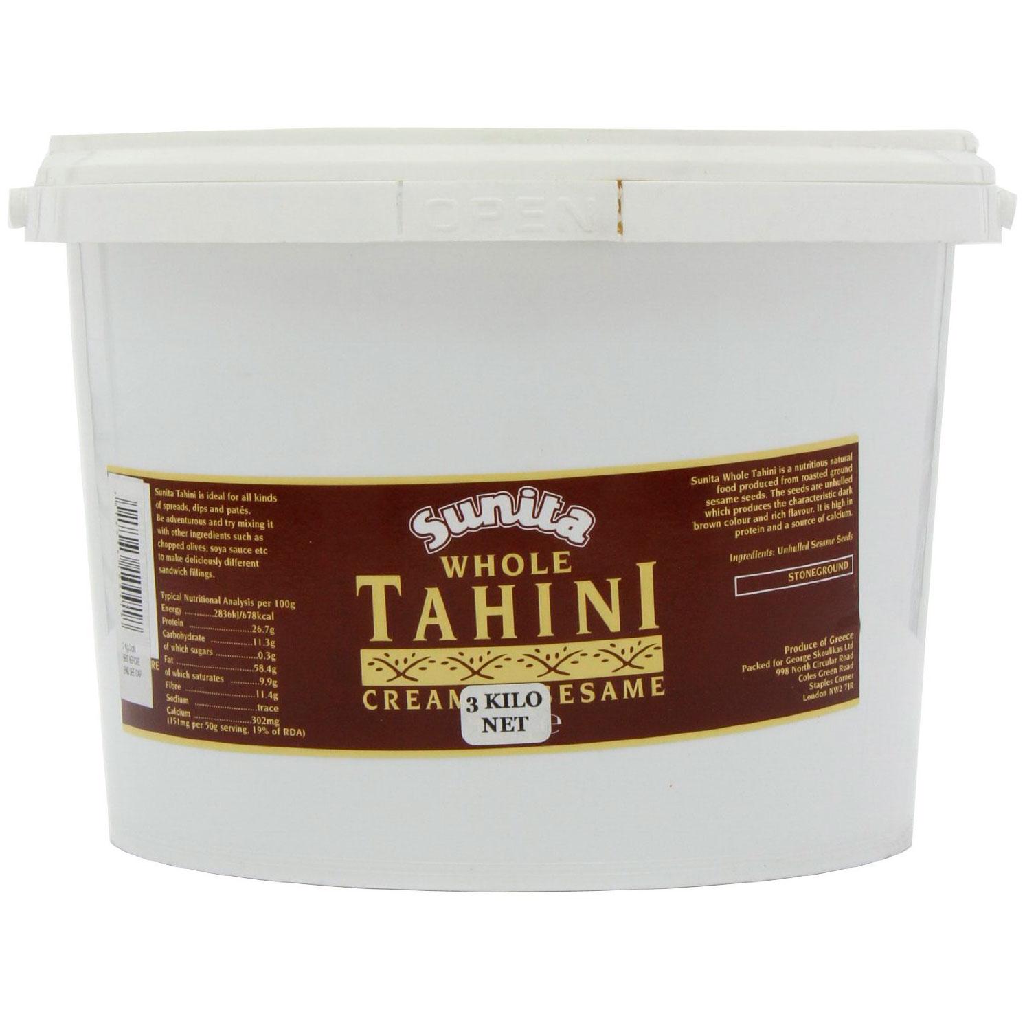 Sunita Whole Tahini Creamed Sesame