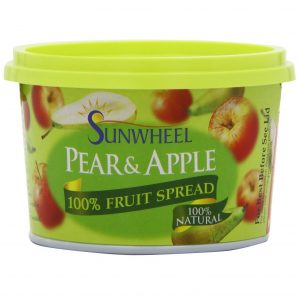 Sunwheel Pear and Apple Spread