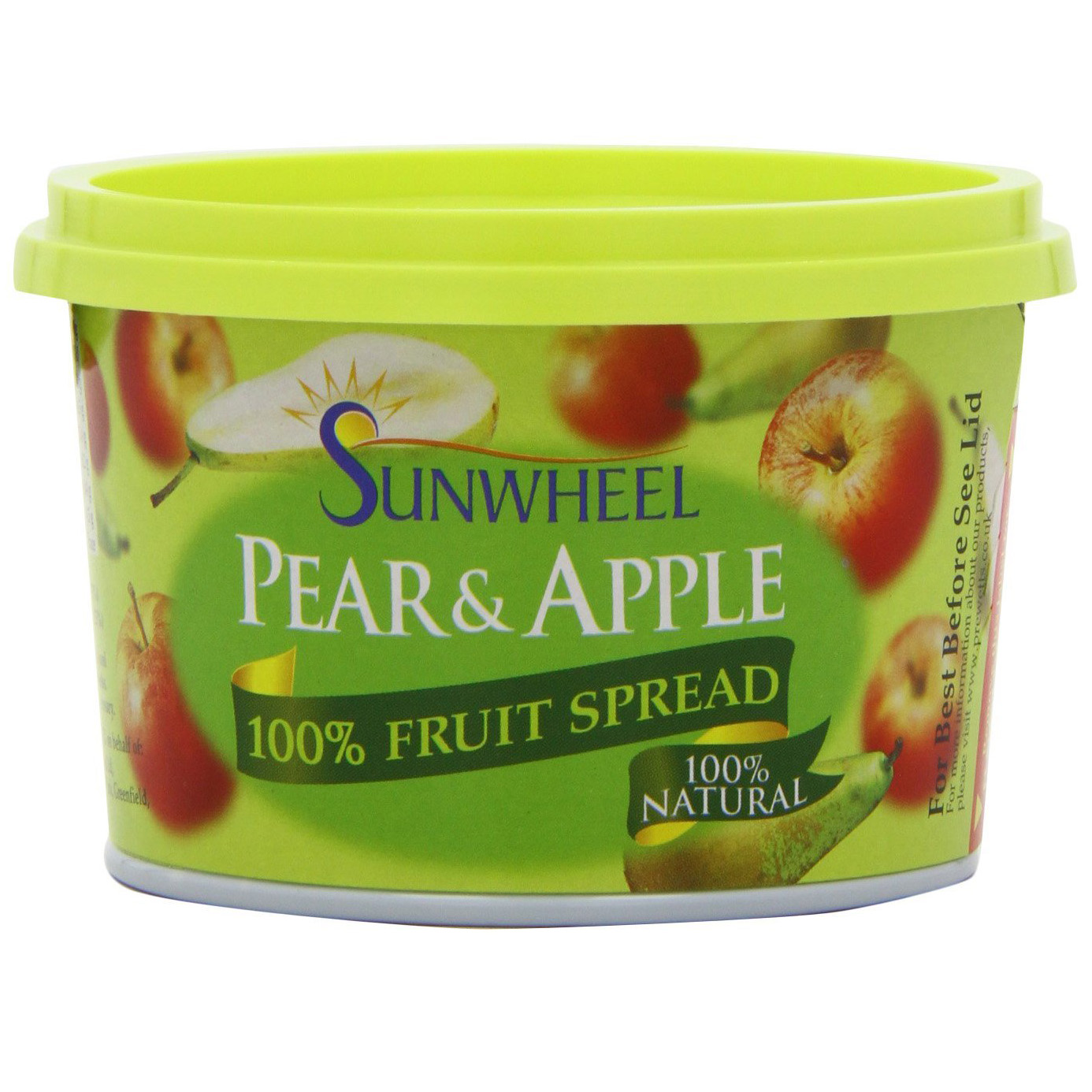 Sunwheel Pear and Apple Spread