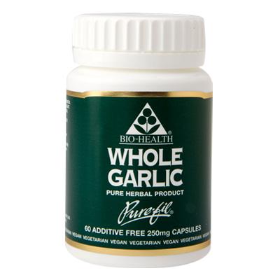 Bio-Health Whole Garlic 250mg
