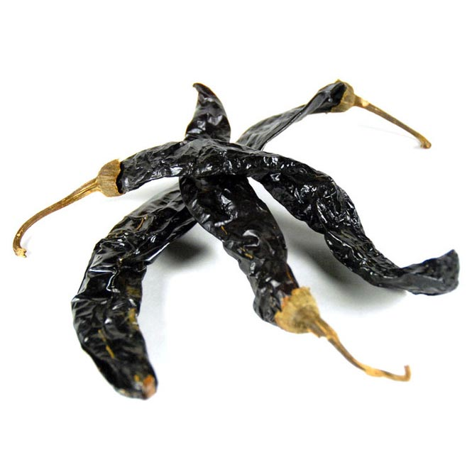 Whole Pasilla Chillies
