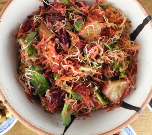 Vibrant Carrot Salad