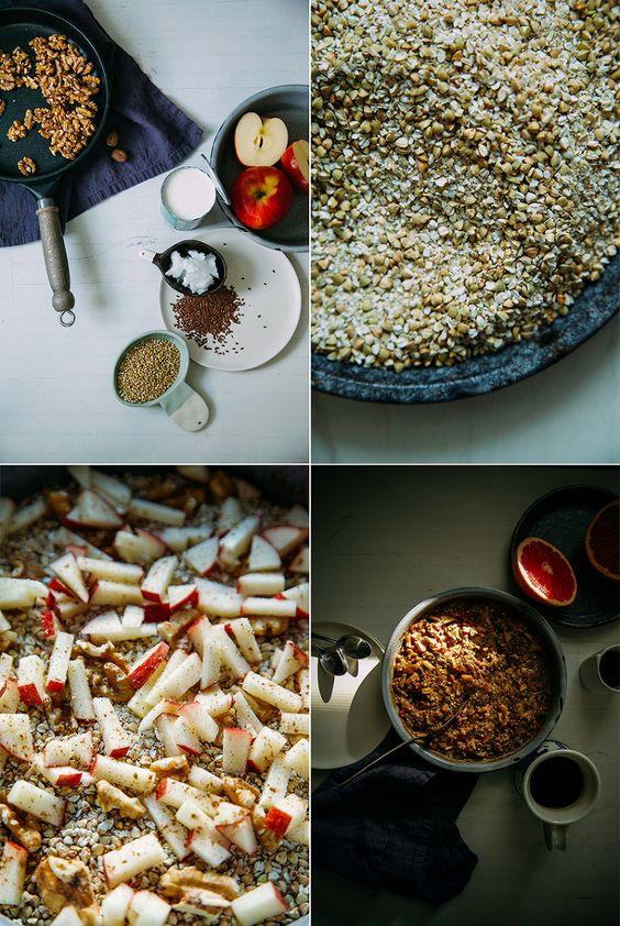 Yummy Spiced Apple Buckwheat Bake