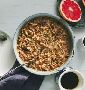 Yummy Spiced Apple Buckwheat Bake