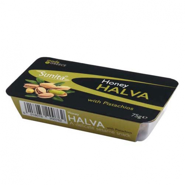 Honey Halva with Pistachios – Organic