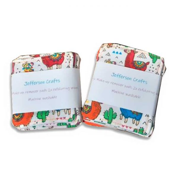 Jefferson Crafts Reusbable Makeup remover pads