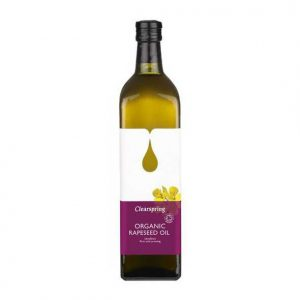 Organic Rapeseed Oil from Clearspring by Eat Wholefoods