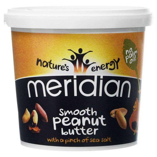 Meridian Smooth Peanut Butter Tub