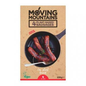 Moving Mountains- Plant Based Sausages