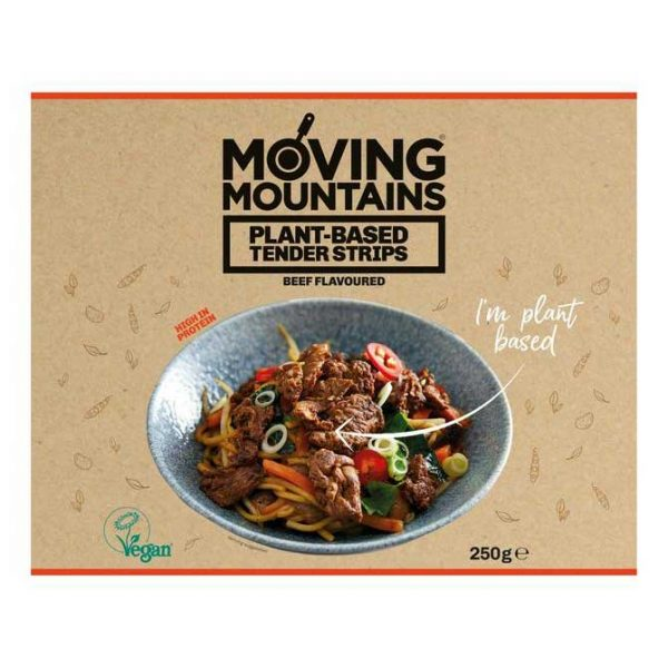 Moving Mountains Plant Based Tender Strips - Beef Flavoured