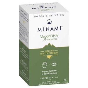 Minami VeganDHA Omega-3 Algae Oil