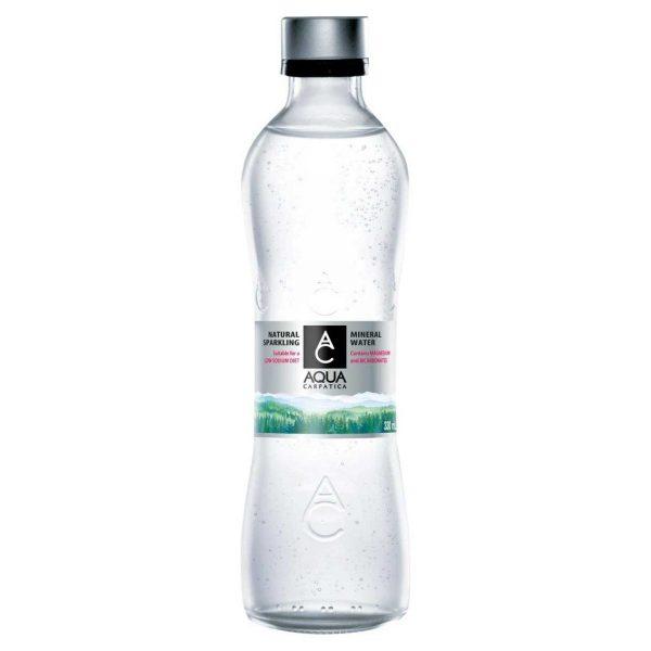 Aqua Carpatica Natural Sparkling Spring Water 330ml