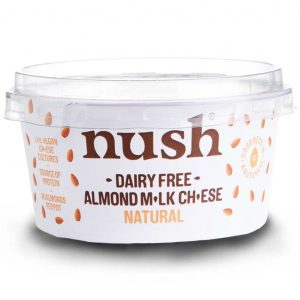 Nush- Dairy Free Almond Milk Cheese -Natural