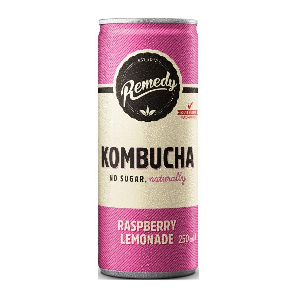 Remedy Kombucha Raspberry Lemonade