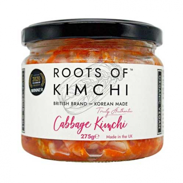 Roots of Kimchi – Vegan Cabbage Kimchi